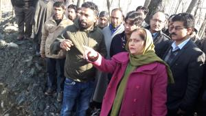 Secretary Rural Development visits Kulgam