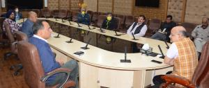 Chief Secretary reviews status of National Highwa...