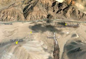 Chinese troops intruded 300m into Demchok in East...