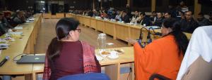 Union RDD minister reviews development scenario o...