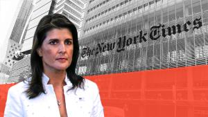 Nikki Haley slams New York Times for releasing st...