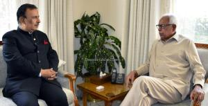 Advisor Mattoo meets Governor