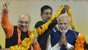 BJP wins Gujarat Assembly polls, tramples Congres...