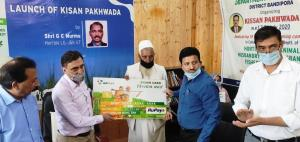 DDC Bandipora launches 'Kissan Pakhwada