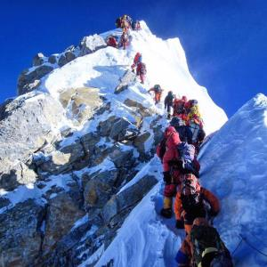 Mount Everest witnesses 'traffic-jam' as 200 trek...