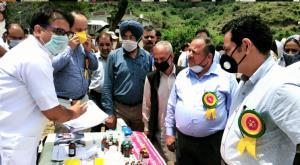 Kissan Pakhwada: DDC Kathua inaugurates Kisan Mel...