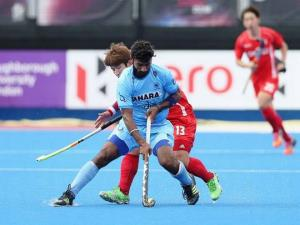 Hockey India congratulates Surender Kumar on comp...