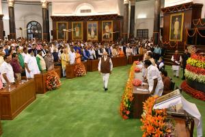 PM Modi, council of ministers to take oath at 7 p...