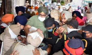 Pro-Khalistan slogans raised at Golden Temple on ...