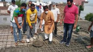 Billawaria kick starts work of community hall