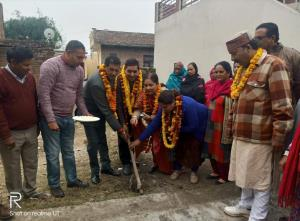 Mayor starts Development works in Jammu City