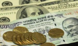 Rupee at 2-week high, gains 53 paise in early tra...