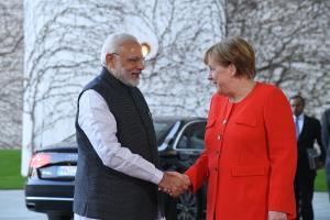 PM holds talks with German Chancellor Merkel on b...