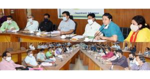DDC Udhampur reviews RDD sector achievements