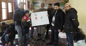 Painting competition under BBBP held at Bal Ashra...