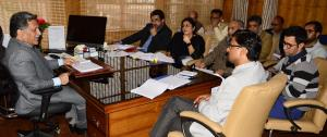 Advisor Ganai reviews functioning of Technical Ed...