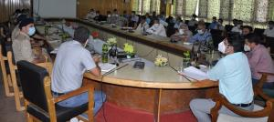 DDC Pulwama reviews I-Day arrangements