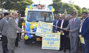 Bharat Petroleum rolls out mobile medical van und...