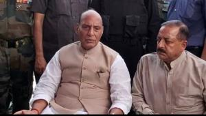 Rajnath Singh hails Army for successfully tacklin...