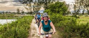 Cycling, walking in nature may improve your menta...