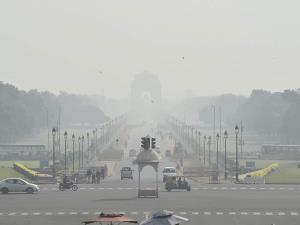 Delhi air quality improves to