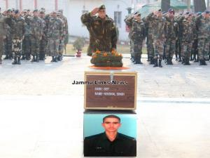 Army pays Tribute to its Valiant Martyr Sep Koush...