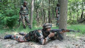 Three terrorists killed in Tangdhar sector of Kas...