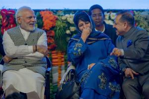 Modi impresses Jammu audience with Dogri language