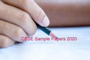 Download CBSE Sample Papers 2020 for class 10, 12