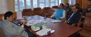 Vyas convenes meeting to discuss installation of ...