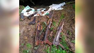 Huge cache of arms, ammunition recovered in Uri