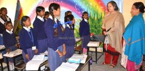 Dr. Nirmal Gupta visits sunrise public school