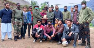 Army organises friendly volleyball match