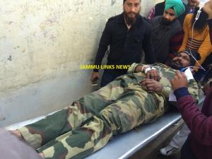 BSF soldier among four injured as India, Pak trad...
