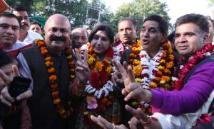Jammu gets new mayor, deputy mayor