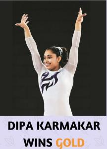 Dipa Karmakar wins gold in Artistic Gymnastics Wo...