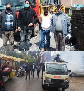 COVID-19: MC Poonch conducts cleanliness drive
