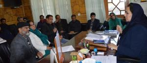 DDC Budgam reviews implementation of PN & PNDT Ac...