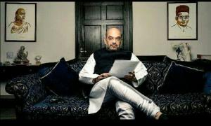 Union minister Naik calls Shah