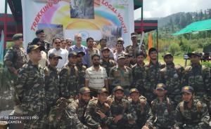 Rector Bhaderwah Campus flagged off Army