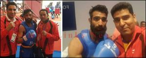 Jammu boy Bhanu Partap Singh assured of a medal a...