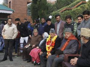 Farooq Abdullah pitches for elections, end to Gov...