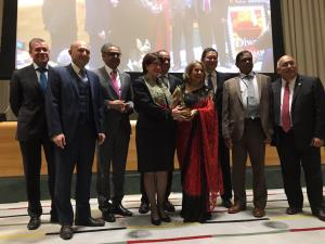 Six eminent global diplomats honoured with