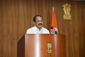 Vice President M Venkaiah Naidu urges govt, judic...