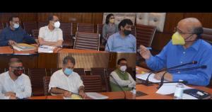 CS reviews progress under Atmanirbar Bharat Abhiy...