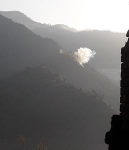 Pakistan army shells forward areas along LoC in P...