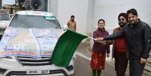 ADC Udhampur flags-off Chunav Van