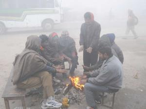 Cold weather continues in Punjab, Haryana