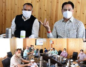 Hirdesh Kumar chairs meeting on delimitation of P...