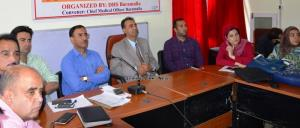 Health Department organizes workshop on IDCF in B...